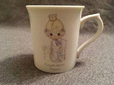 Congratulations Princess Coffee Cup - Precious Moments - Vintage Mug 1986