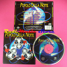 CD Popolo Della Notte People Of The Night Compilation no mc vhs dvd(C38)