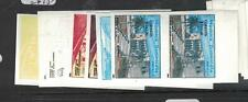 Dominican Republic SC 1371 Lot of Six Different Imperf Proof Pairs MNH (3dwr)