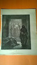 Dore Bible Gallery Engraved Small Print The Pharisee and the Publican