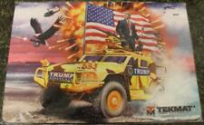 """TekMat Armorer's Bench Mat 11"""" x 17"""" Mouse Pad Work Surface DONALD TRUMP HUMVEE!"""