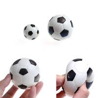 1PC Stress Relief Vent Ball Mini Football Squeeze Foam Soccer Ball Kids ToJB