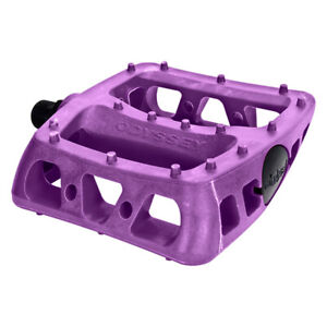 "ODYSSEY TWISTED PC PLATFORM PURPLE 9/16"" BICYCLE PEDALS"