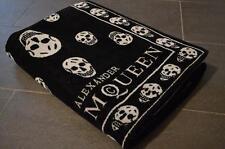 "ALEXANDER MCQUEEN MCQ SKULL ""original"" telo mare bagno asciugamano beach towel"