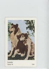 1962 Dutch Gum Serie N #164 Lassie Non-Sports Card f5h