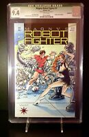 Magnus Robot Fighter #1 (CGC 9.4) NM Trading Cards Cut Out