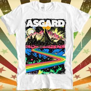 Welcome To Asgard Odin Thor Loki Cool Gift Tee T Shirt 3055