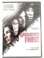 Brooklyn's Finest DVD 2010 Rated R Richard Gere Don Cheadle Ethan Hawke B1