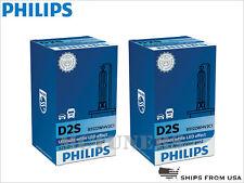 2 x PHILIPS WHITE VISION D2S 85122WHV2C1 5000K HID XENON HEADLIGHT BULBS GERMANY