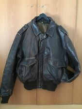 Leather Schott Fly Jacket A2 Size 46 Very Good Condition