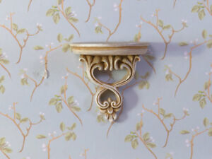 Two Decorative Corbel Shelves, Dolls House Miniature, Wall Decor