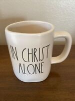 "Rae Dunn ""In Christ Alone"" Mug Magenta Artisan Collection New"