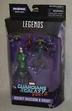 Marvel Legends Rocket Raccoon & Groot Guardians of the Galaxy Vol. 2  NEW Hasbro