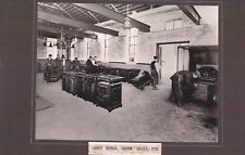 1980s reproduced photograph - gas cooker repair bourne valley 1930