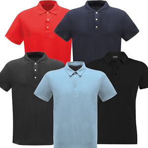 Mens Polo Shirt Shirts Regatta Heavyweight Top New Size XS From Only £1 Bargain