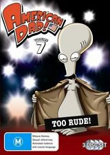 American Dad: Volume 7 - Too Rude! - DVD like new watched once