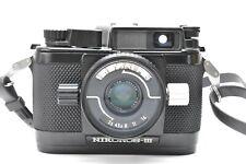 [NEAR MINT] NIKON Nikonos III w/ 35mm f/2.5 Underwater Film Camera From Japan
