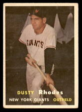 1957 Topps #61 Dusty Rhodes Giants VG-EX+ (ref 22940)