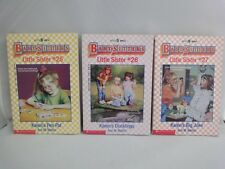 1992 Babysisters Club Little Sister Books #25 #26 #27