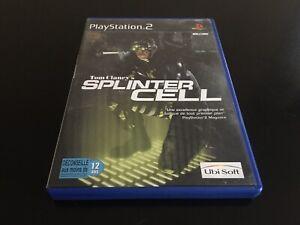 TOM CLANCY'S SPLINTER SONY PLAYSTATION 2 PS2 EDITION FR PAL