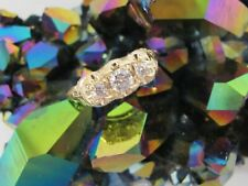 14K Gold Diamond 0.50 TCW Women's Ring Solid Size 11