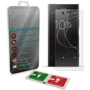 Tempered Glass Screen Protector for Sony Xperia XZ1 Shatterproof 9H Hardness