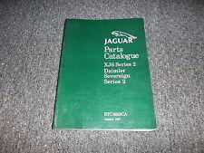 1976 Jaguar XJ6 & Diamler Sovereign Series II 2 Parts Catalog Manual Book