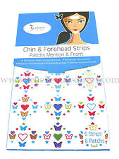 12 x GRACE YOUR FACE CHIN & FOREHEAD STRIPS & PATCHES FOR T-ZONE NEW BLACKHEADS