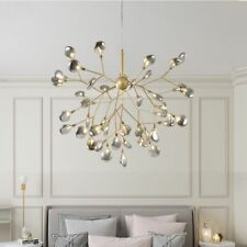 Chandelier Ceiling LED Light Firefly Pendant Lamps Tree Branches Home Decoration