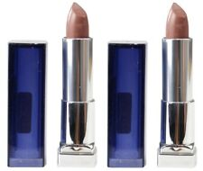2 x MAYBELLINE 4.2g COLOUR SENSATIONAL LIPSTICK 760 GONE GRIEGE 100% Brand New