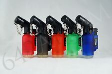 5x Eagle Jet Torch Flame Windproof Butane Refillable Lighters