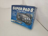 NEW in box Performance SuperPad 8 P-400 Auto Fire Controller for Sega Saturn H14