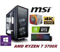 GAMER PC AMD Ryzen 7 3700X 8x 4,40Ghz NVIDIA RTX 2080 TI 32GB DDR4 500GB SSD 01