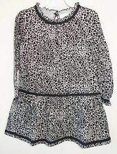 BN ~ Hanna Andersson Leopard Print Dress Girl's 140 / 9-11 year / size10