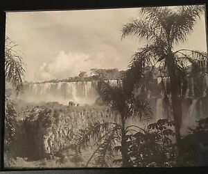 1930's or Earlier Gelatin Silver Print of Victoria Falls, Africa