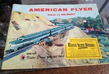 1956-1958 American Flyer Catalog by Gilbert