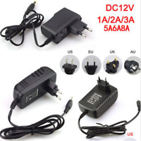 DC 5/6/9/12V 1/2/3A AC Adapter Charger Power Supply for LED Strip Light New HOT