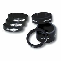 FSA 2 alargadores anillos direccion aluminio 1-1/8 negro