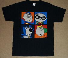 Family Guy DC Comics Super Heroes Portrait Shirt Large New Licensed