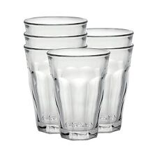 Duralex Picardie Water Glass 50cl 500ml Tumbler, Pack of 6, TOUGHENED GLASS