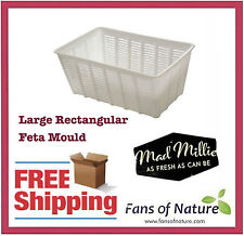 Large Rectangular Feta Mould - Cheese Making by Mad Millie