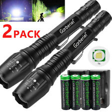 990000Lumens Tactical Police SWAT 5Modes T6 LED Flashlight Aluminum Zoom Light