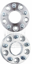 "Hub Centric 5x4.5 to 5x5 1.25"" Wheel Spacers Adapters 1/2x20 Studs Jeep JK MJ SJ"