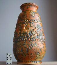 Vintage 1960s-1970s WALTER BECHT Keramik German Pottery Vase