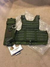 Eagle Industries Land CIRAS Vest OD Green Large LE Marshals SWAT DFLCS