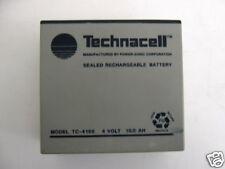 POWER-SONIC TECHNACELL  TC-4100 4 VOLT  RECHAR BATTERY