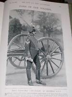 1896 Batterie Sergeant Major Christopher Carnaghan Rha
