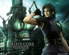 POSTER FINAL FANTASY 7 VII ADVENT CHILDREN CRISIS CORE ZACK FAIR CLOUD STRIFE #4