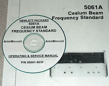 HP Ops & Service Manual for 5061A Cesium Beam Frequency Standard (Early Serials)