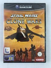 Gamecube Star Wars The Clone Wars (2002), UK Pal, New & Factory Sealed, Flawed